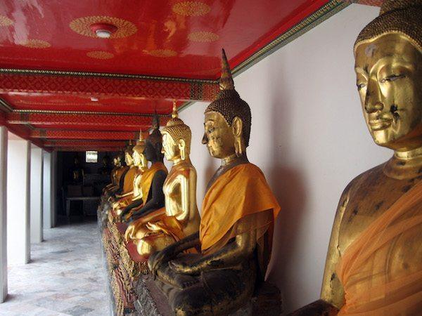 תמונה של מקדש בבנגקוק