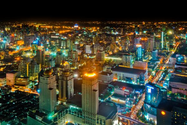 תמונה של בנגקוק צילום לילה