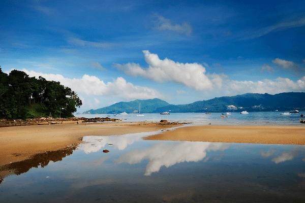 תמונת חוף הים של פטונג - הצד הדרומי השקט