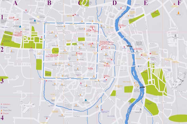 תמונה של מפת צ'אנג מאי