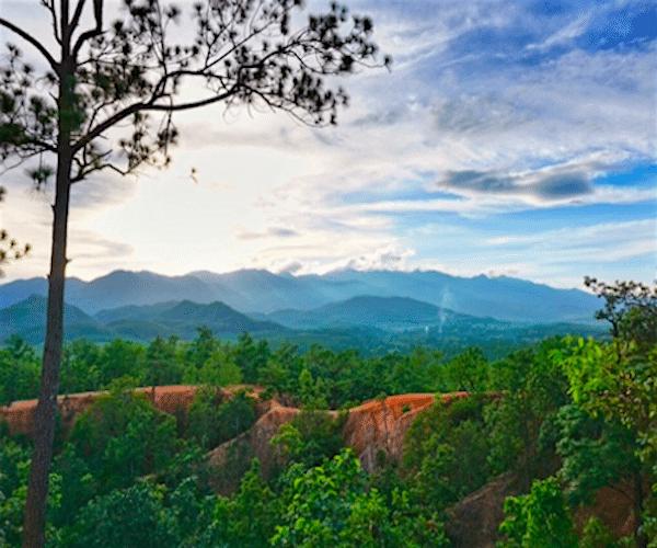 תמונה של נוף בסביבות פאי תאילנד מתוך אתר טיול לתאילנד של סגול