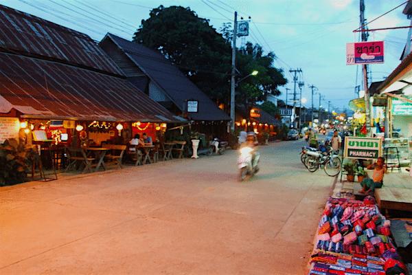 תמונת העירה פאי תאילנד