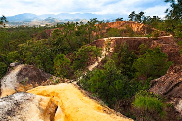תמונה של נוף בטבע של פאי תאילנד מתוך אתר טיול לתאילנד עם סגול