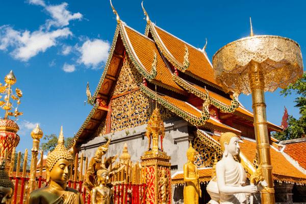 תמונת מקדש דוי סוטפ בצ׳אנג מאי - סגול סוכנות נסיעות בתאילנד