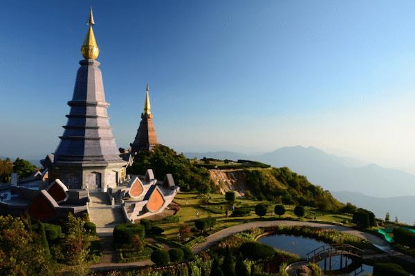 תמונת דוי אינטאנון  באזור צ'אנג מאי תאילנד - טיול לתאילנד עם סגול