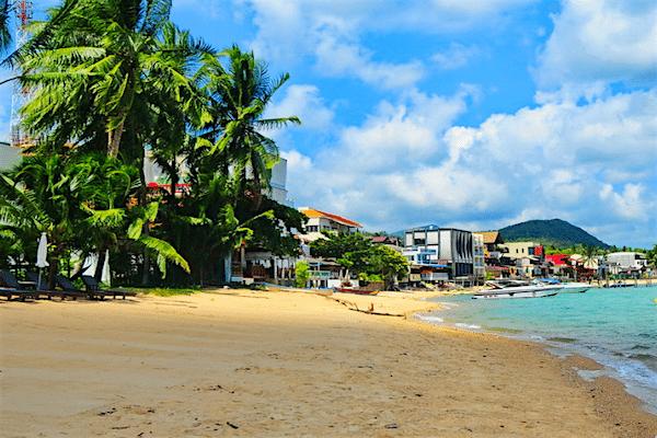 תמונת חוף בופוט קוסמוי תאילנד