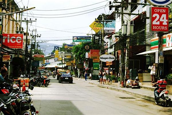 תמונה של הרחוב ראשי קוסמוי צ׳אוונג