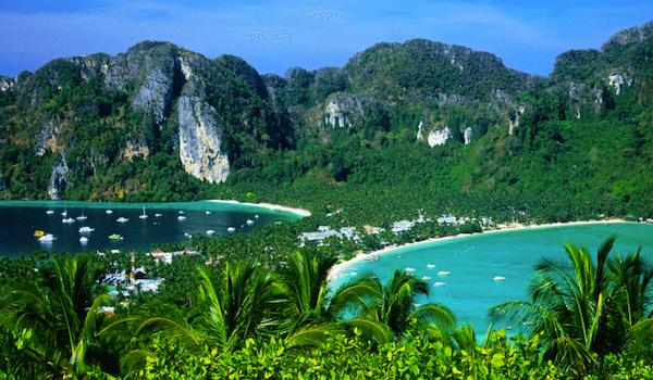 תמונת על של הכפר בין שני המפרצים קופיפי