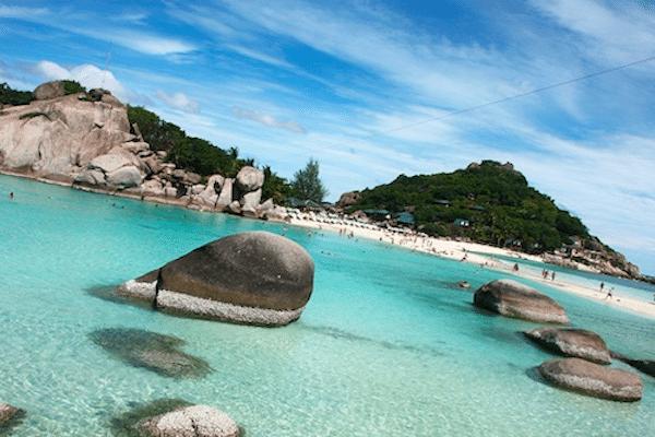 תמונה של חופי קו טאו המיוחדים, מרכז הצלילות של תאילנד מתוך אתר טיול לתאילנד עם סגול