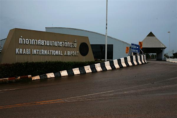 תמונה של שדה התעופה של קראבי מרוחק כ-15 דקות נסיעה מהעיר
