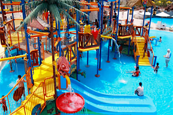 תמונת מגלשות מים מתוך עמוד תאילנד עם ילדים סגול סוכנות נסיעות בתאילנד